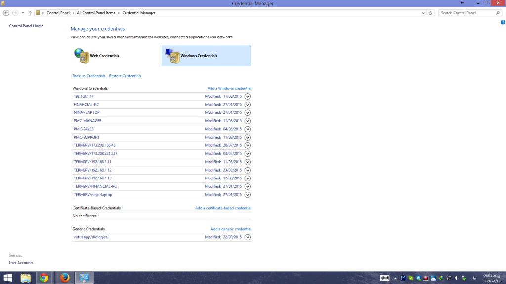 مدیریت اطلاعات ورود کاربران در شبکه های Workgroup